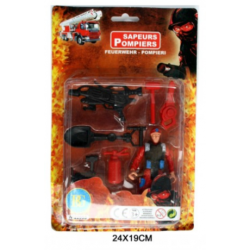 Figurine Pompier avec...