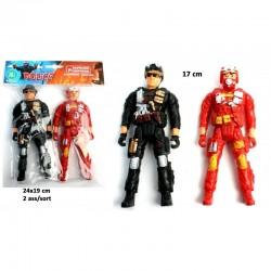 Figurine Pompier et Police