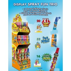 Colis Bonbons Spray Fun Trio