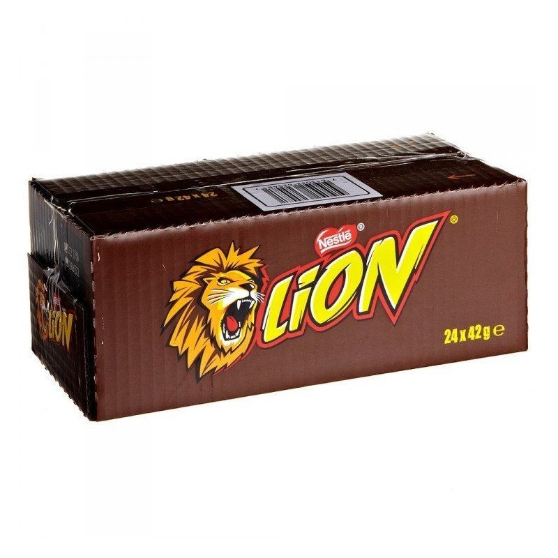 Lion x 24 Barres Chocolats