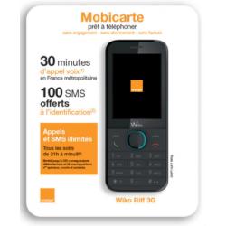 Pack Téléphone Orange Wiko...