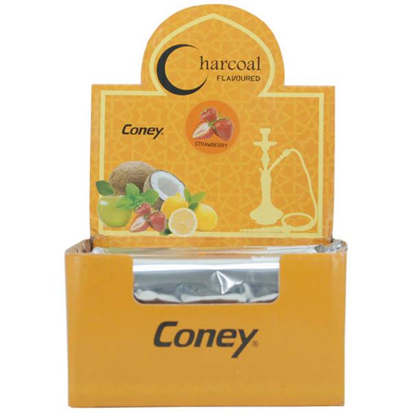 charbon-narguilé-coney-arôme-fraise