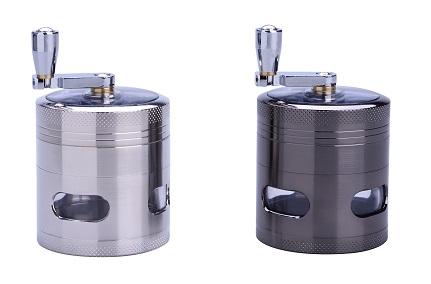 grinder-moulin-métal-4-parties-avec-fenêtres