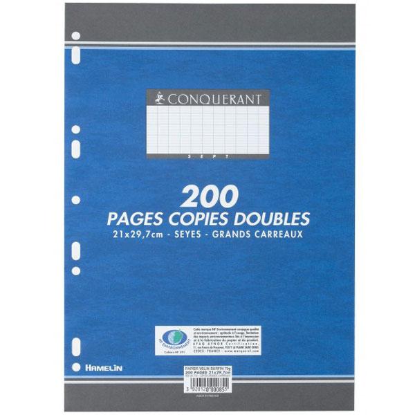 200-pages-copies-doubles-conquerant