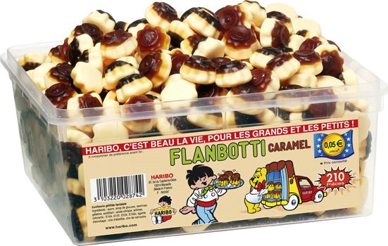 bonbon haribo flanbotti