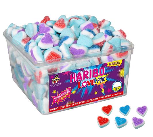bonbon haribo love pik