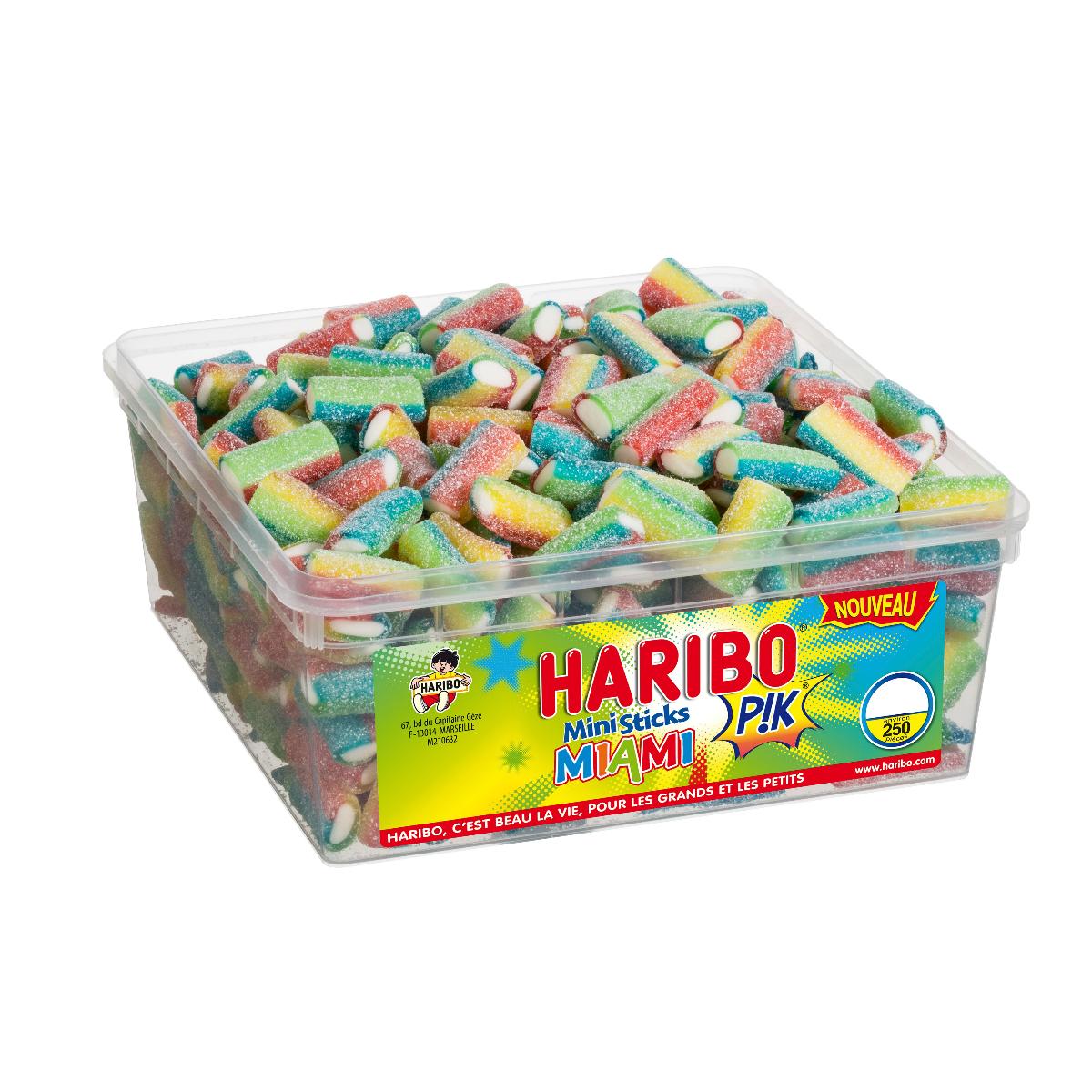 bonbon haribo ministick miami pik