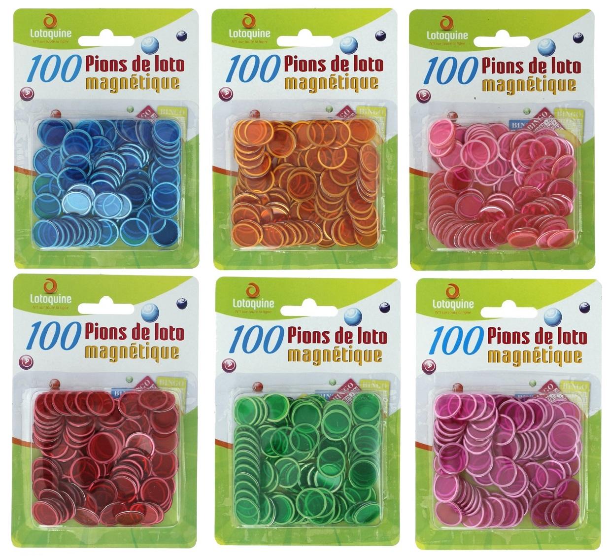 100-pions-de-loto-magnétiques