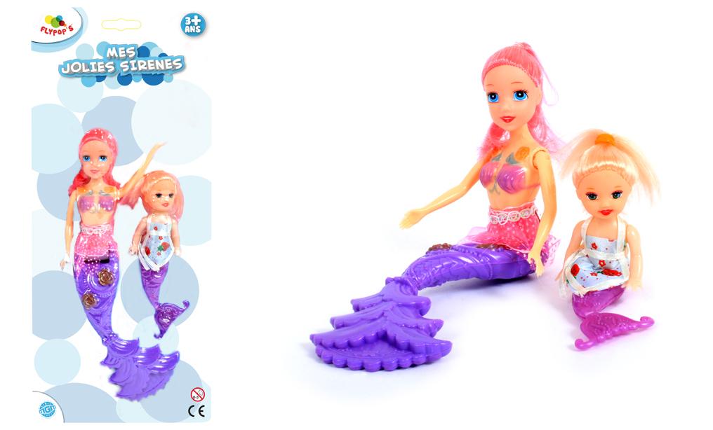 poupée-sirène