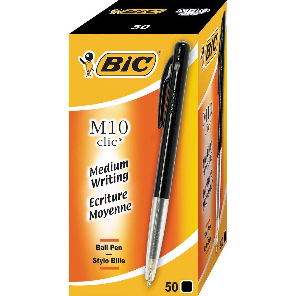 stylo-bic-m10-clic-noir
