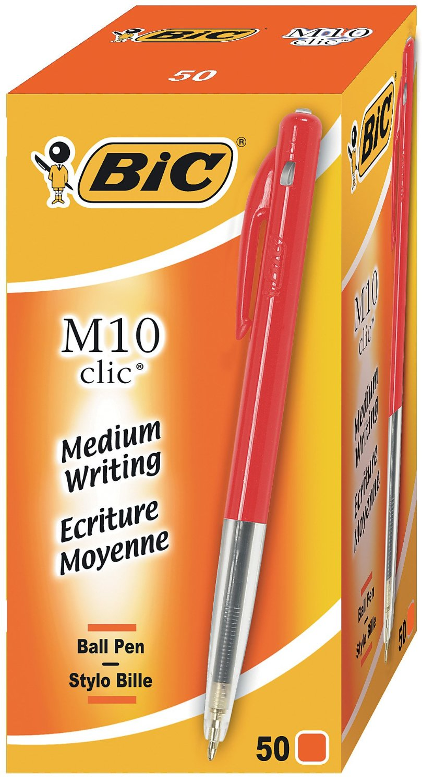 stylo-bic-m10-clic-rouge
