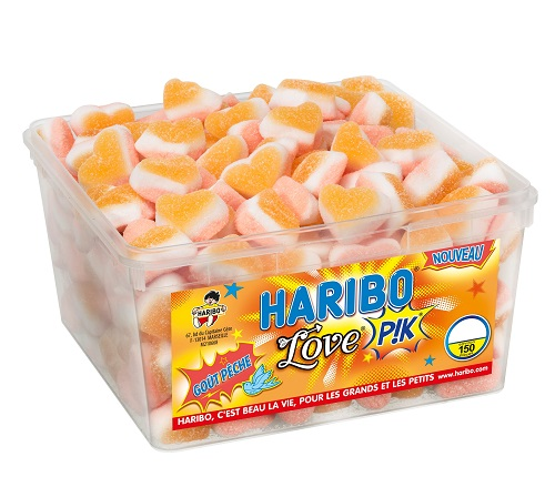 bonbon-haribo-love-pik-pêche-pas-cher