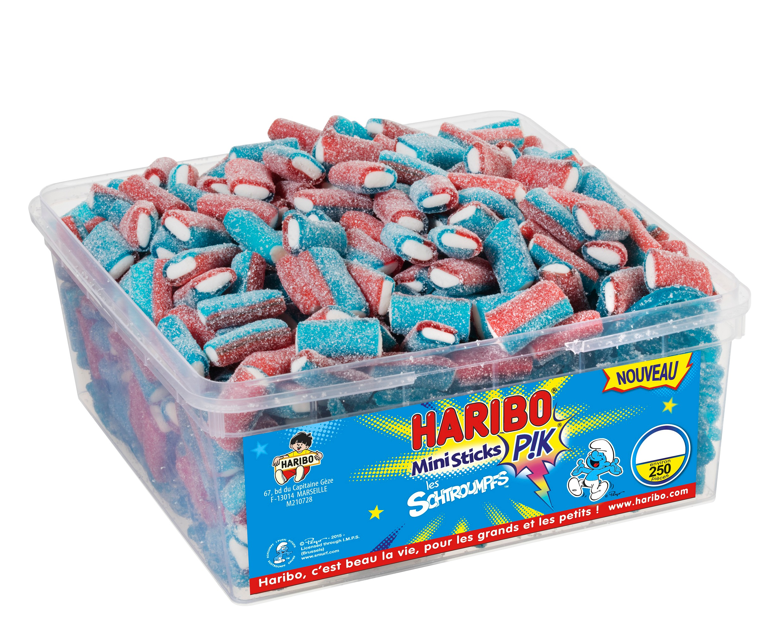 bonbon-haribo-mini-sticks-schtroumpfs-pik