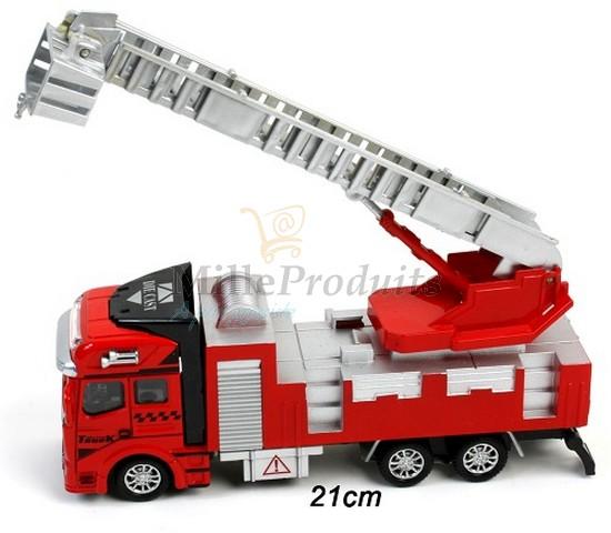 camion-de-pompier-en-métal-pas-cher